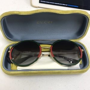 AUTHENTIC GUCCI ROUND SUNGLASSES LIKE NEW